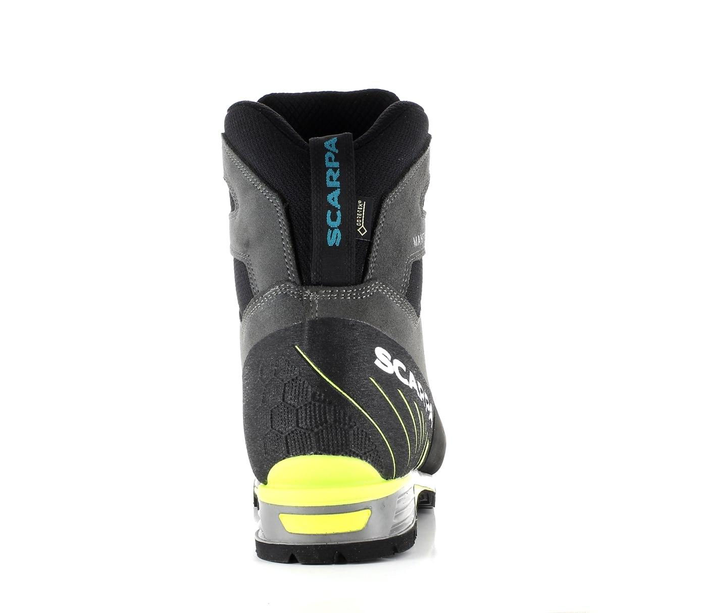Scarpa Manta Tech GTX shark/lime Bergschuhe 6